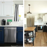 5 Two Toned DIY Kitchens