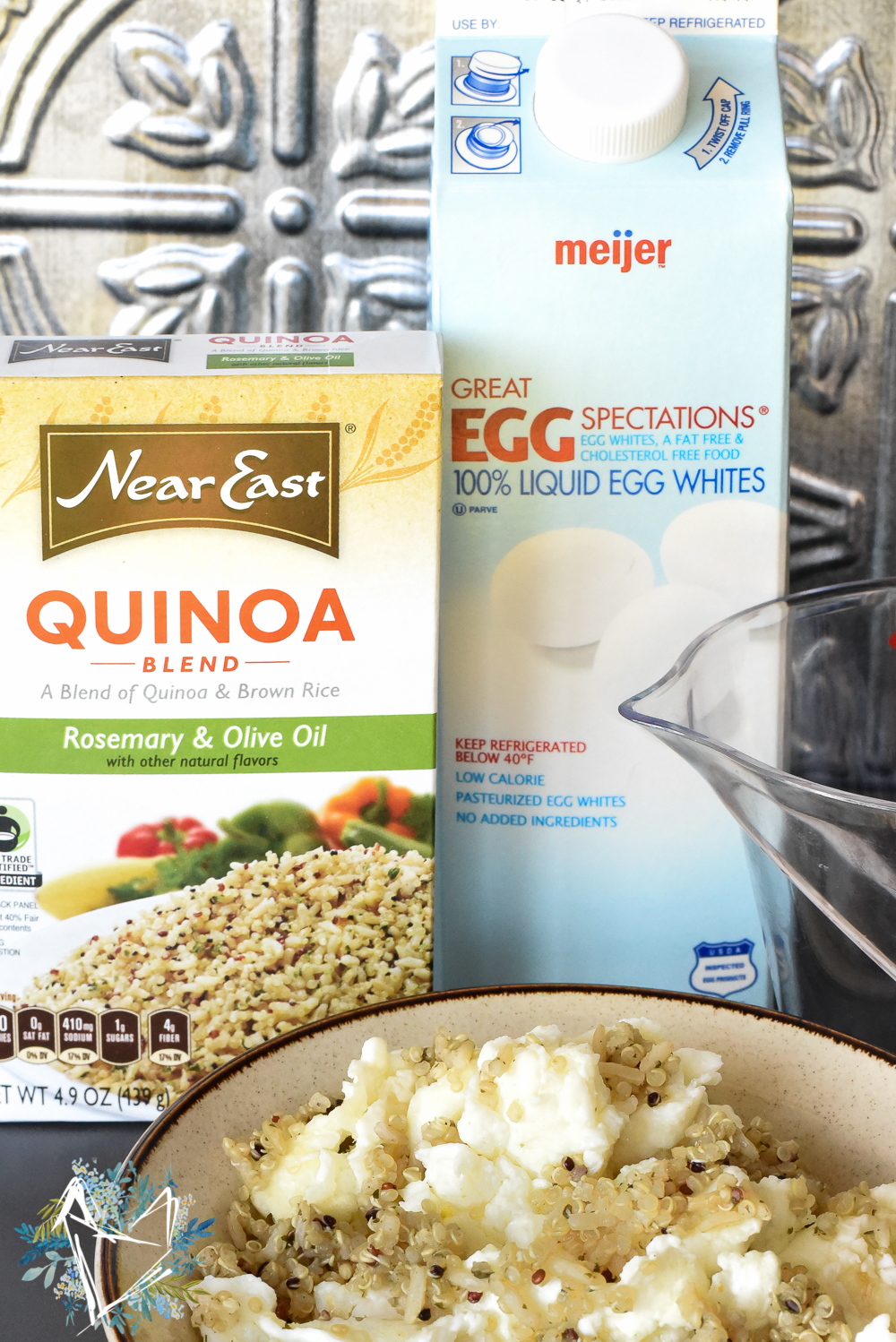 Eggs and Quinoa Breakfast-2