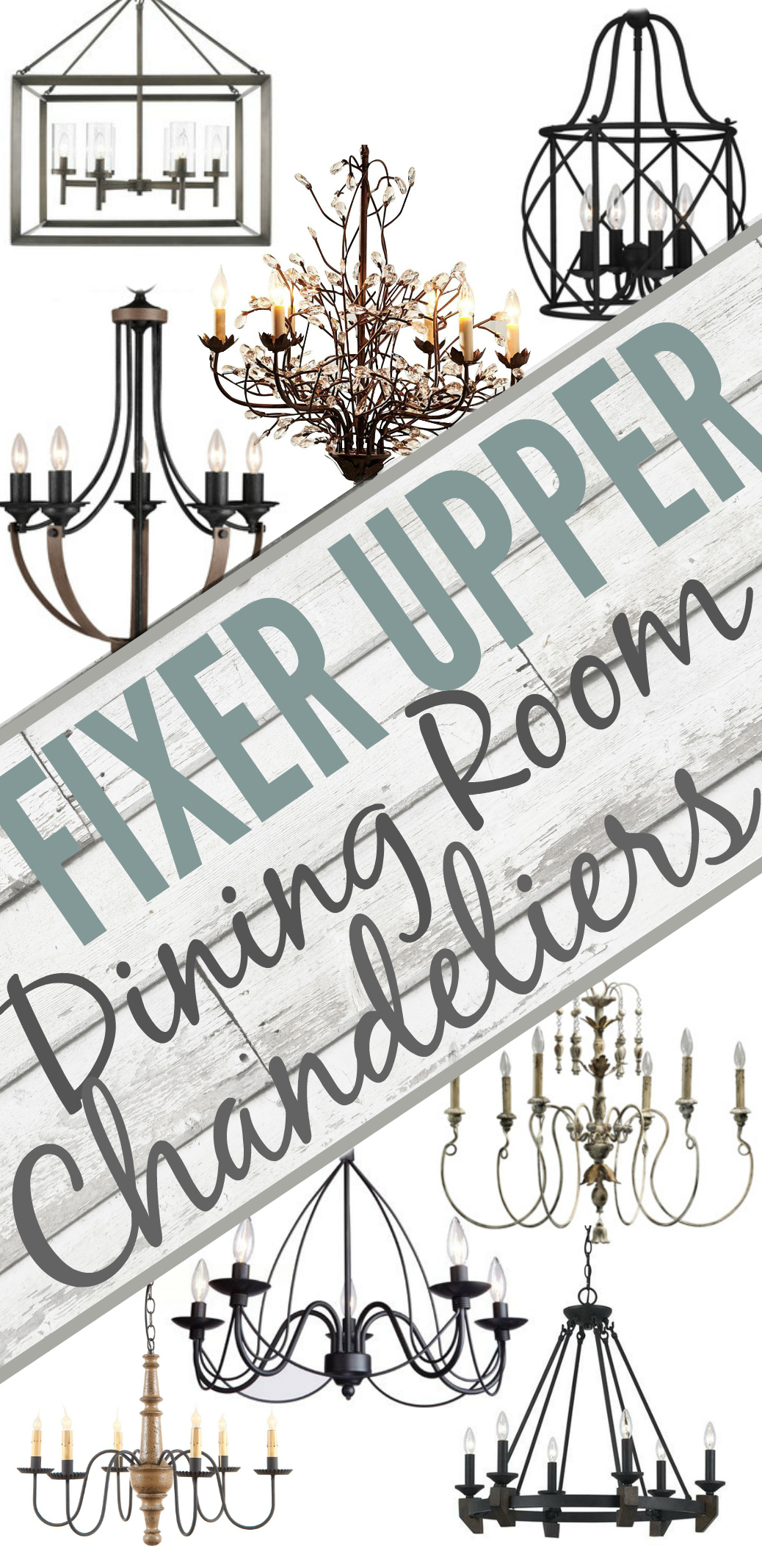 Fixer Upper Lights Inspired By Joanna Gaines The