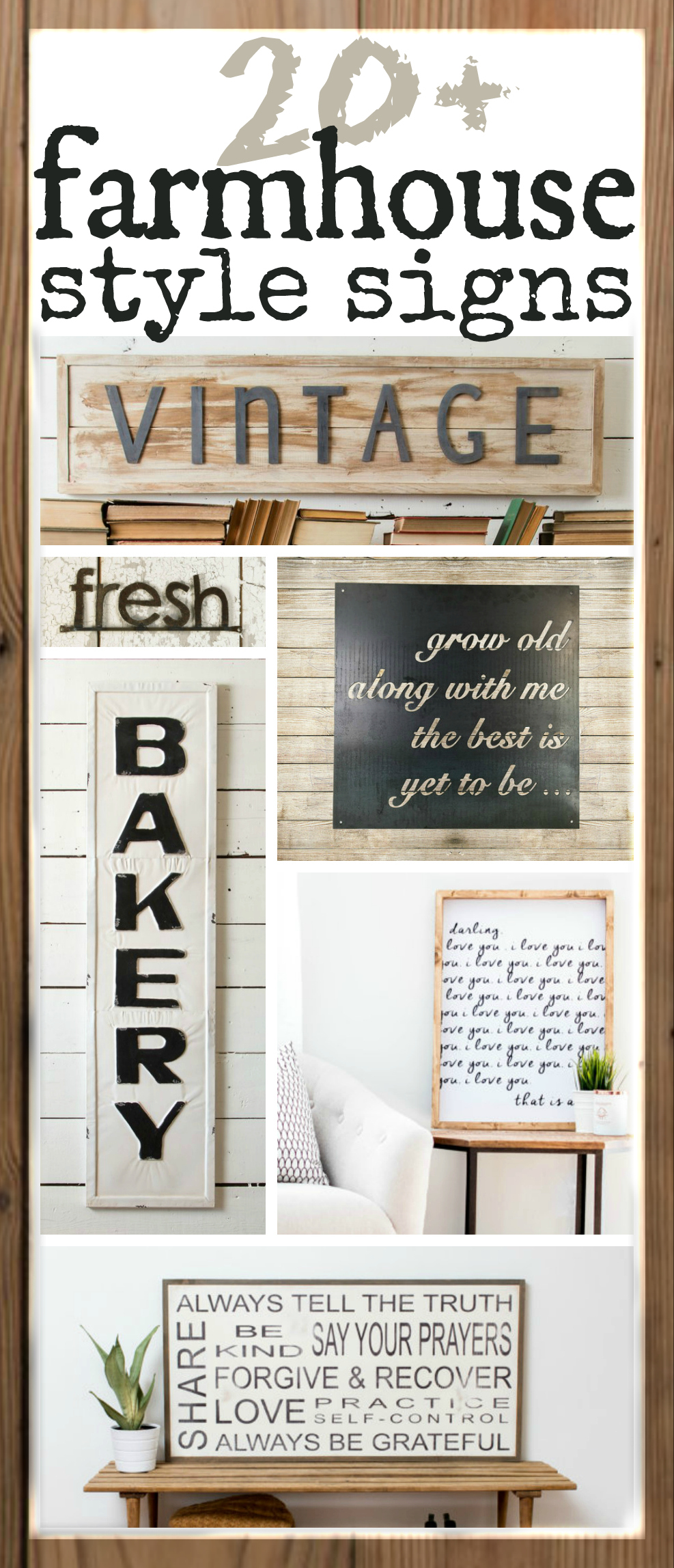 Fixer Upper Inspired Farmhouse Signs You Can Buy Online The