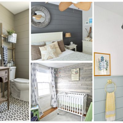 Awesome Non-White Shiplap Decorating Ideas