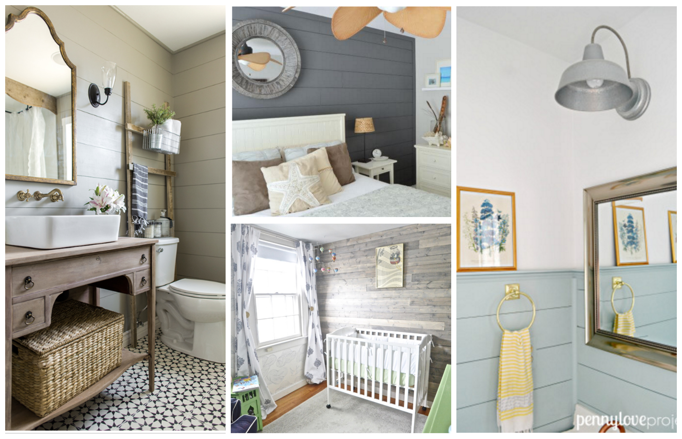 Awesome Non-White Shiplap Decorating Ideas That Work With ...