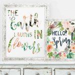Hello, Spring! Free Printable