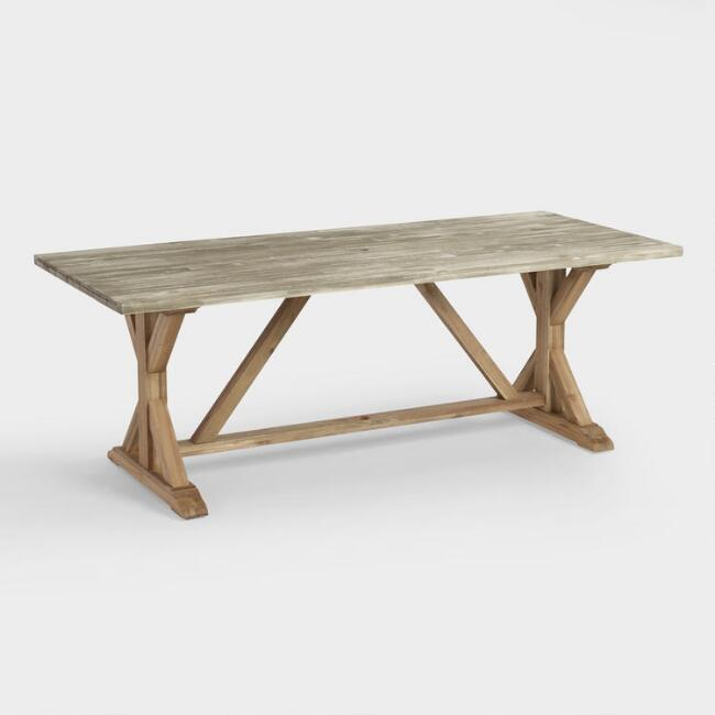 Fixer Upper Season 1 Episode 2 Dining Table