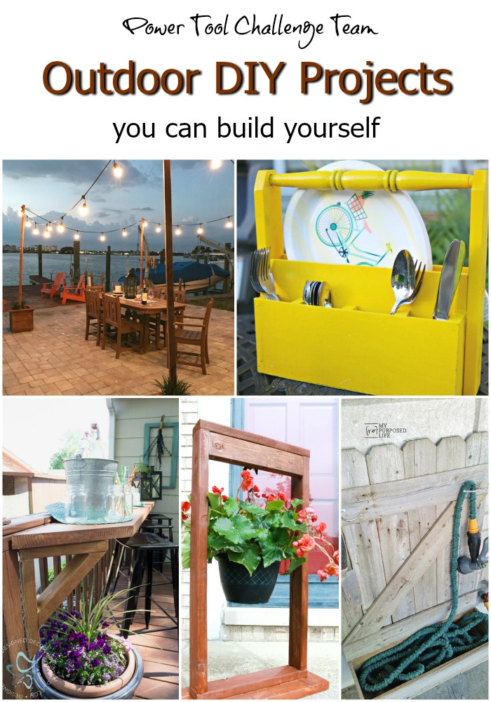 DIY Outdoor Power Tool Projects