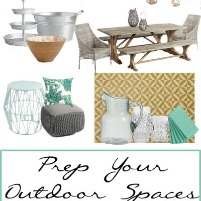 Prep Your Outdoor Spaces for Summer Fun