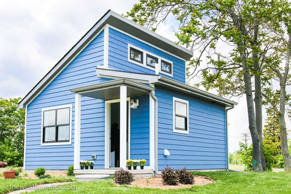 Tiny Homes with Big Style in Detroit