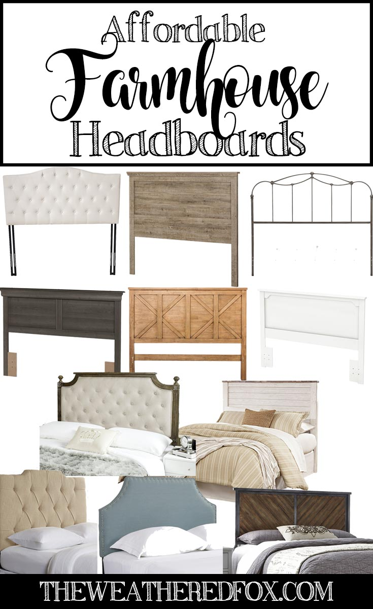 21f725c1ca Affordable Farmhouse Headboards. Moving into a new house for a person who  loves to design and decorate can be a really exciting event. On the flip  side, ...