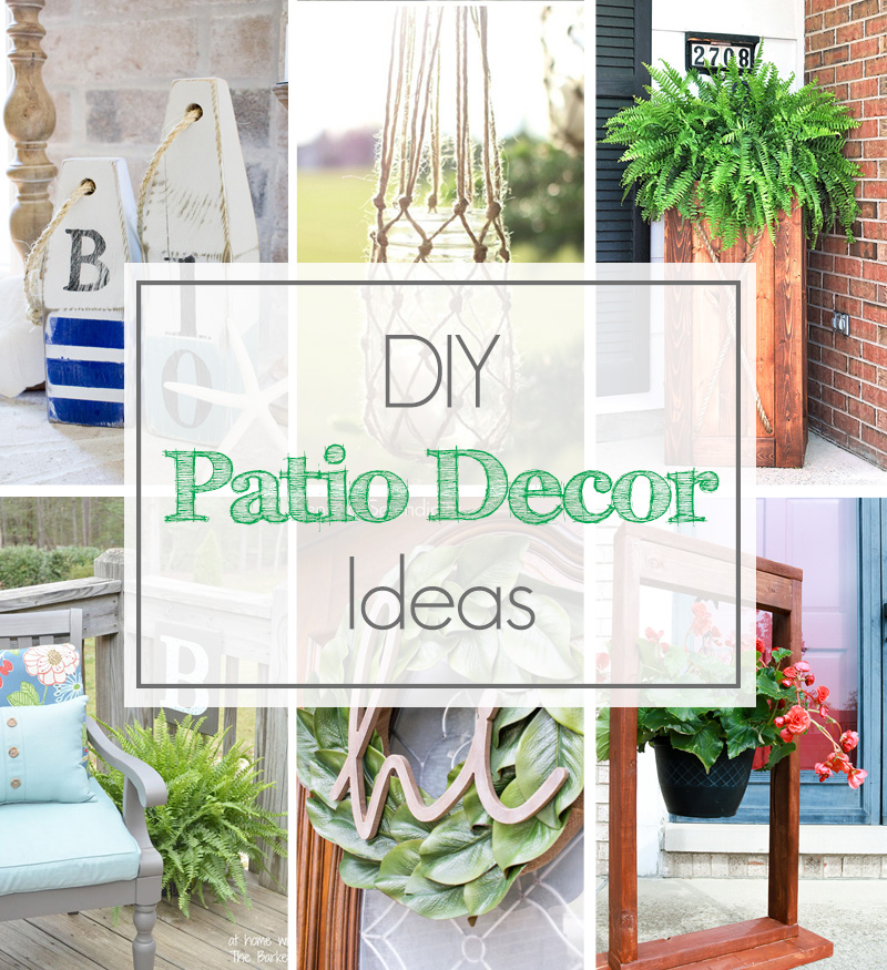 Diy patio decor home design ideas and pictures for Home decor of 9671 inc