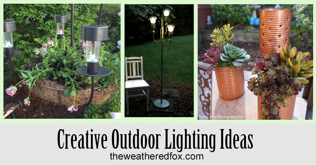 Twelve outdoor lighting ideas to add to your space