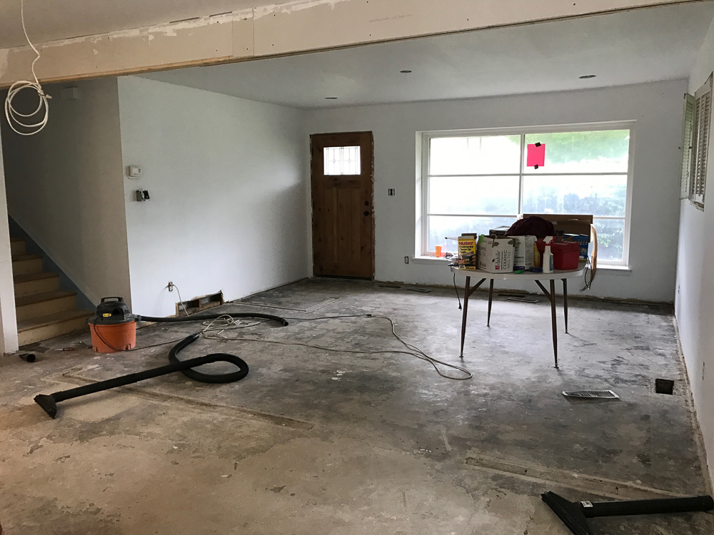 Trilevel Turd Update, And How To Remove A Load Bearing Wall   The Weathered  Fox