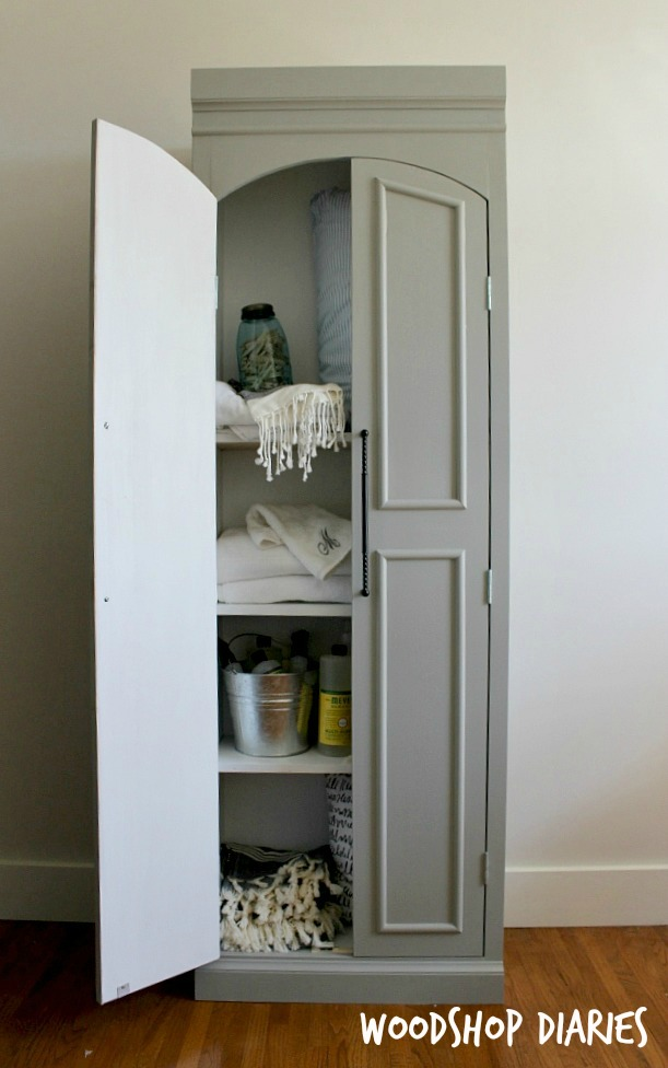 DIY Pantry Cabinet by Woodshop Diaries