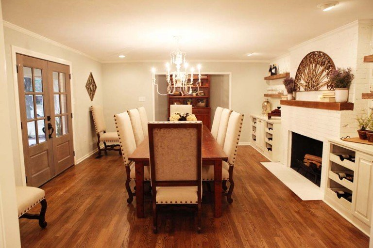 Fixer Upper Season 1 Episode 4 Dining Room: Shop the house! The Mt. Rockwood Story! Full shopping guide with sources!