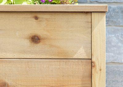Build Your Own Rustic Cedar Planter