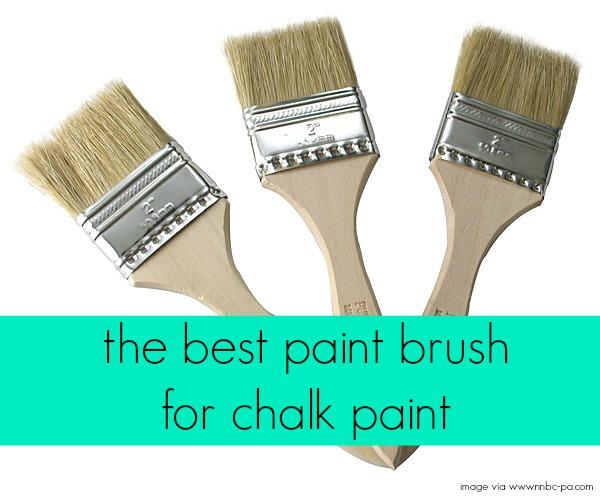 Best Paint Brush For Chalk