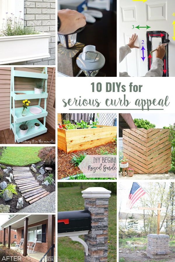 10 DIYs for Serious Curb Appeal