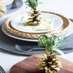 Pineapple Party Decorations: DIY Pine Cone Pineapples