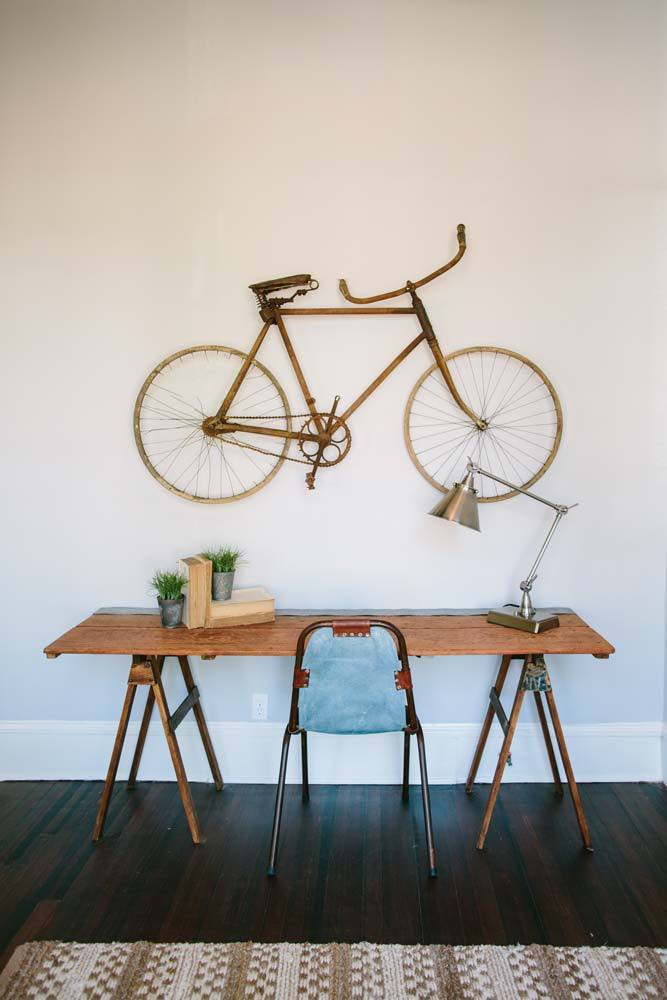 Shop the house! Fixer Upper Season 1 Episode 12 Office find the exact decor items to recreate the look! Fixer Upper room recreation.