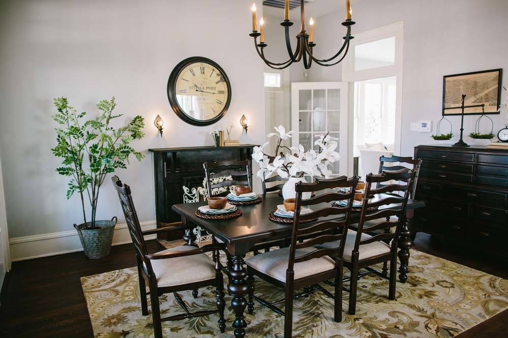 Fixer Upper Season 1 Episode 12 Dining Room