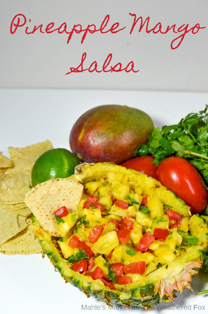 Pineapple Mango Salsa: A tangy and savory salsa perfect for BBQs and Potlucks