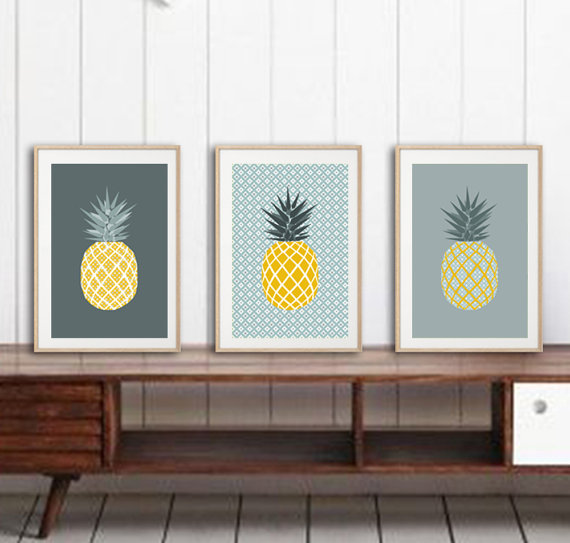 How to Add Pineapples to Your Home Decor | My Breezy Room for The Weathered Fox