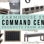 How to Make a Farmhouse Style Command Center