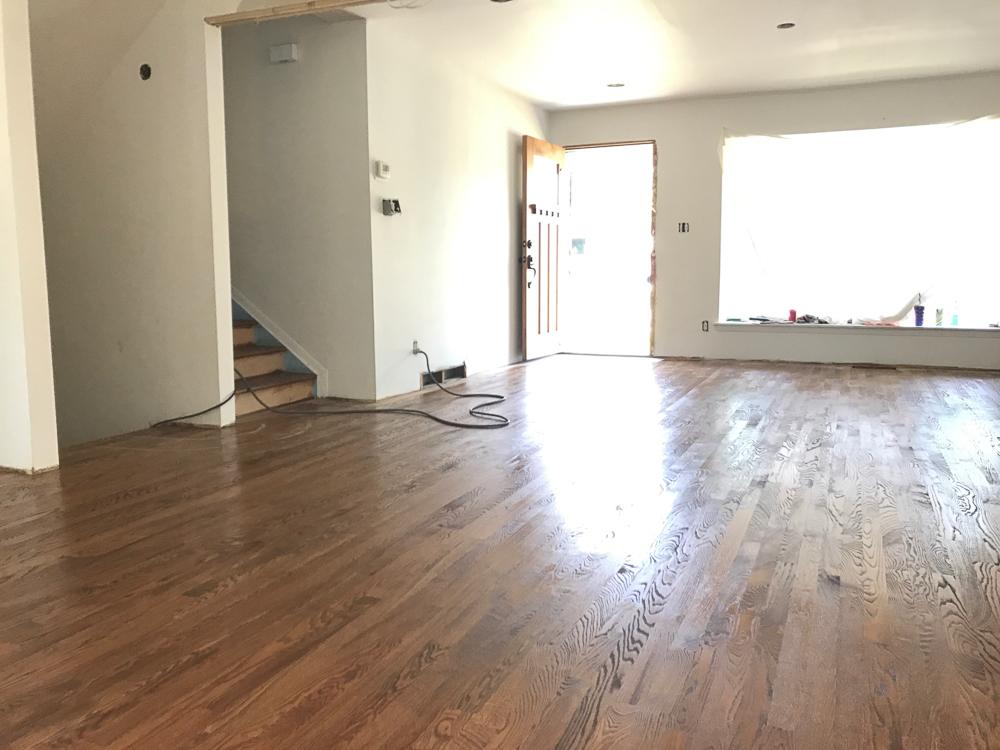 The Turd Gets Hardwood Floors