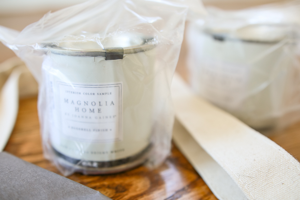 I Tried Peel And Stick Magnolia Home Paint Samples Amp Here