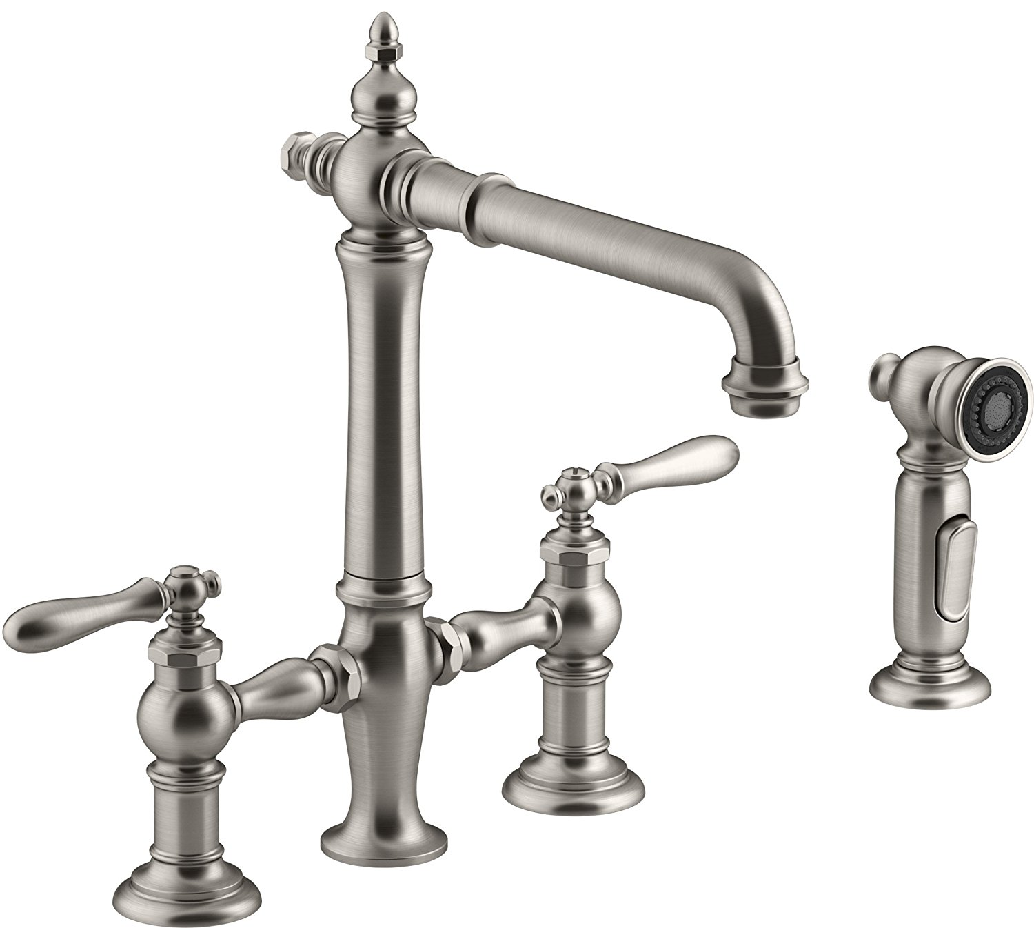 Stylish And Functional Farmhouse Kitchen Faucets The