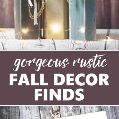 Gorgeous Rustic Fall Decorating Ideas