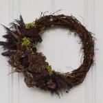 DIY Grapevine Wreath For Fall
