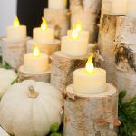 Quick & Easy Birch Candle Holders