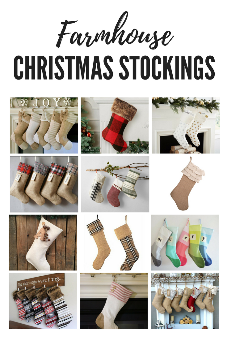 12 of the best farmhouse christmas stockings