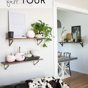 Modern Fall Home Tour | My Breezy Room