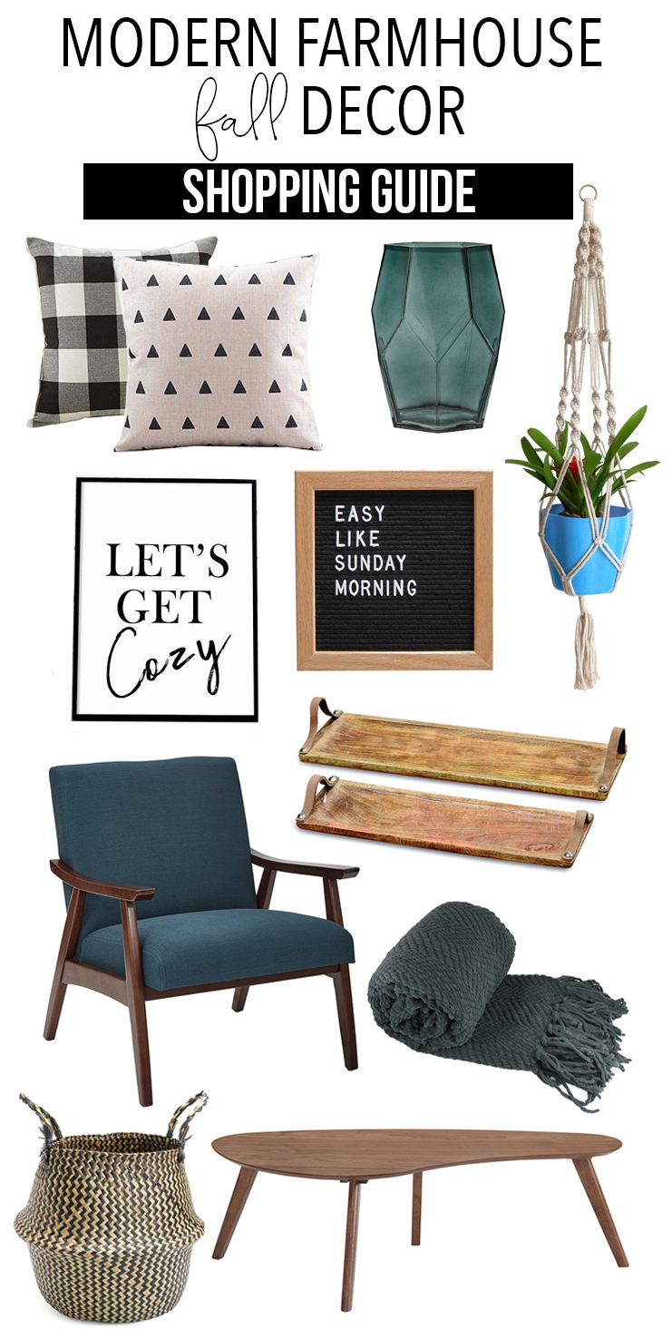 Modern farmhouse fall home decor shopping guide the weathered fox - Home and decor online shopping photos ...