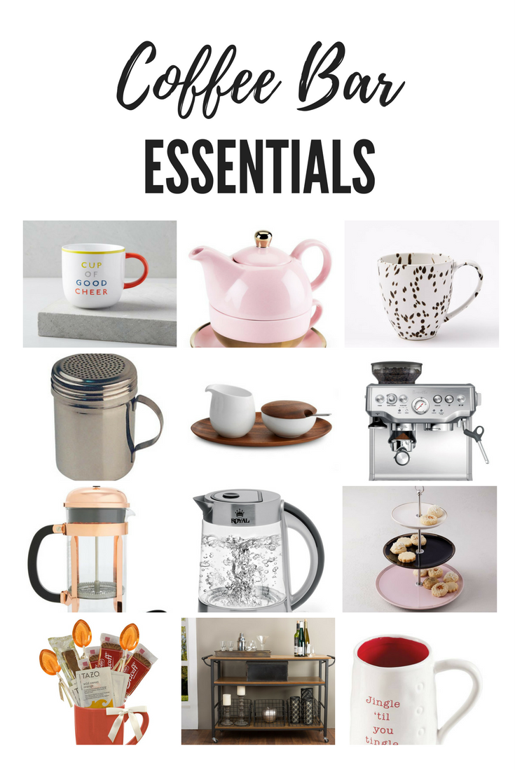 Coffee bar essentials to make hosting a breeze