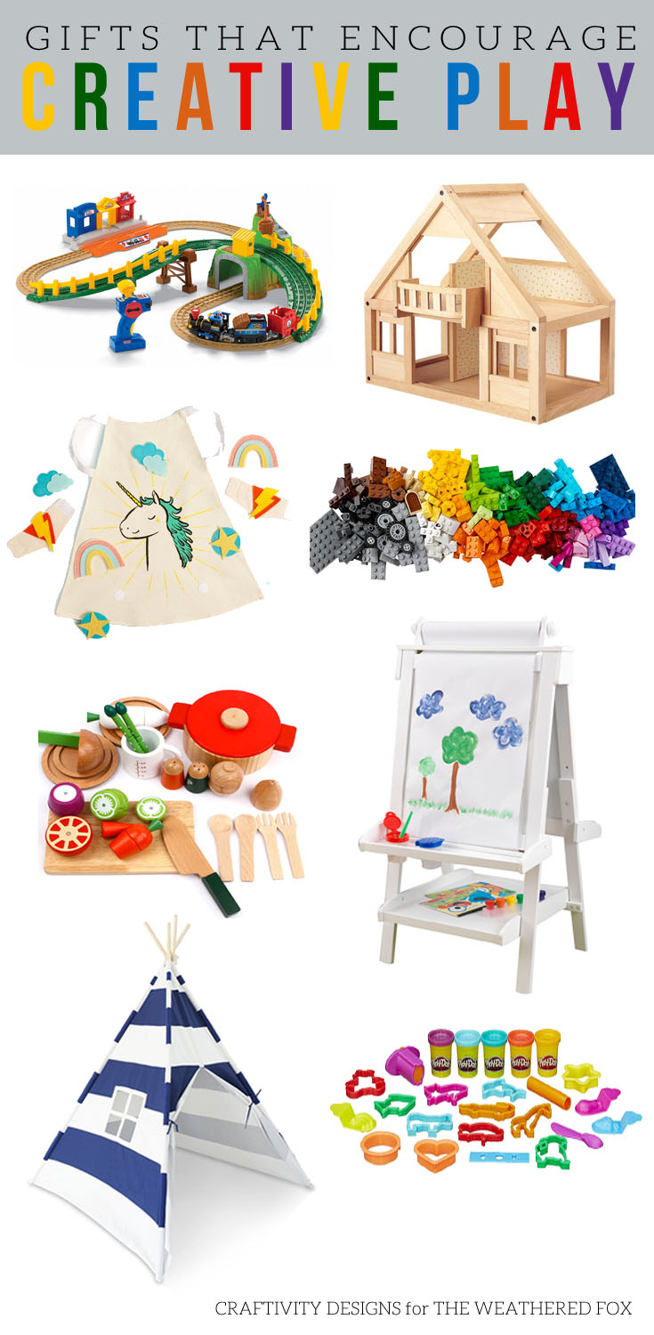 The best gifts that encourage creative play!