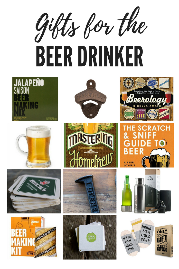 Gifts for the beer drinker