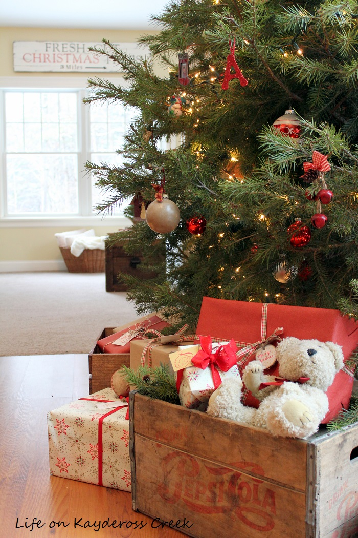 My Life On Kaydeross Creek Farmhouse Christmas Tree