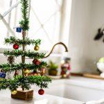 DIY Mini Tabletop Christmas Tree