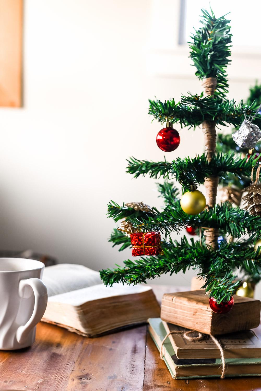 DIY Mini Tabletop Christmas Tree - The Weathered Fox