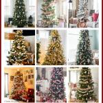 Amazing Farmhouse Christmas Trees