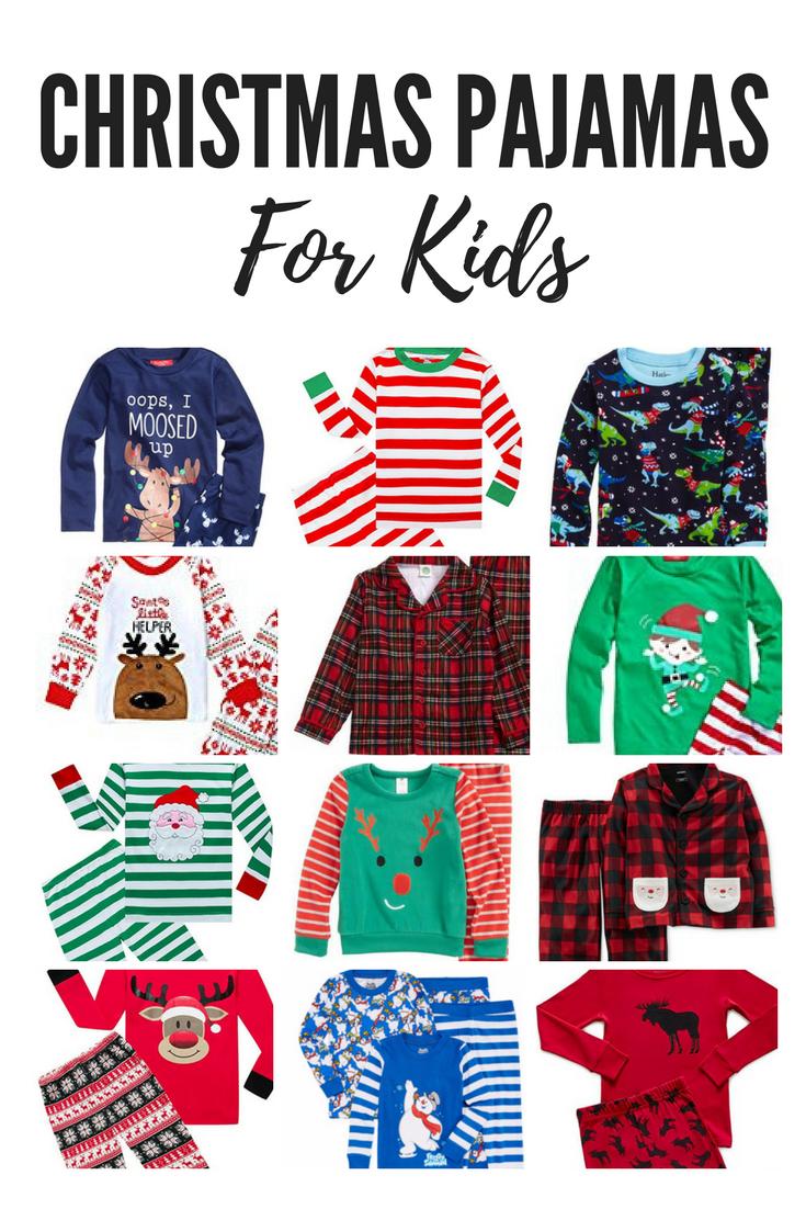 The best Christmas pajamas for kids! New Christmas jammies. Christmas gift ideas