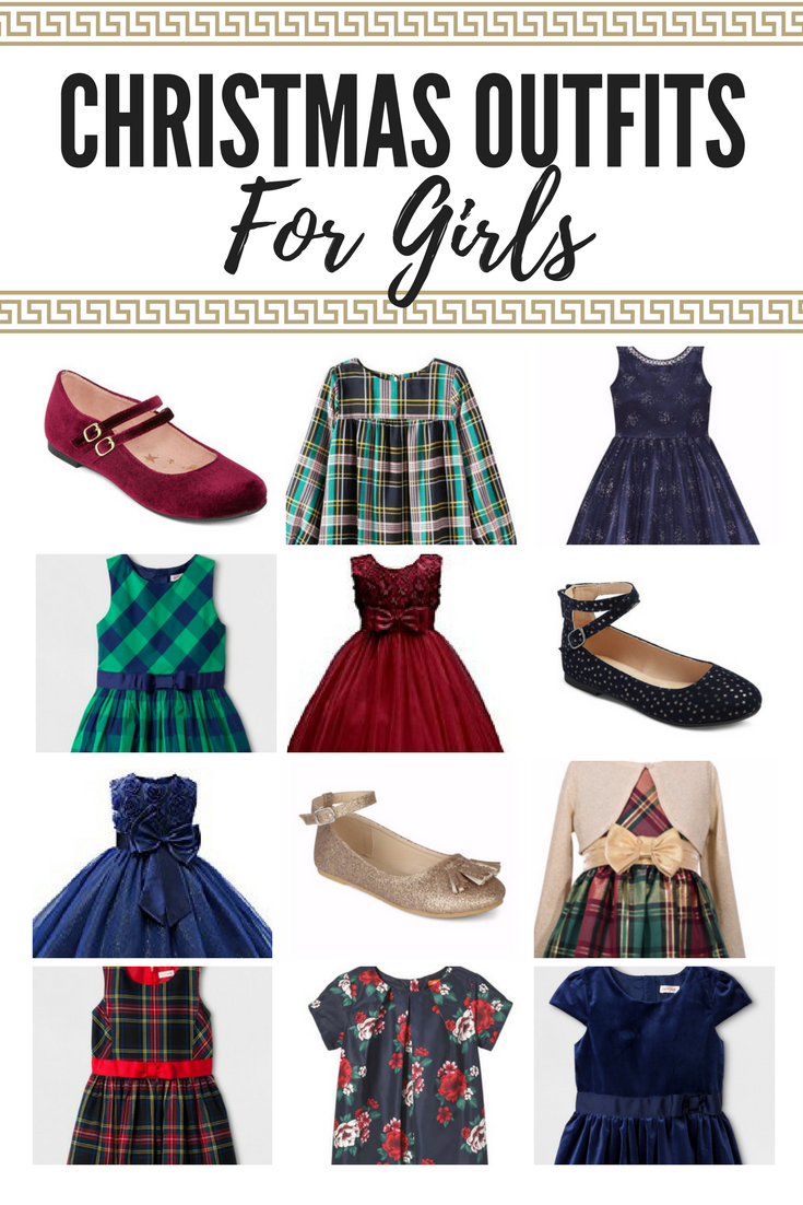 Christmas party dresses and outfits for girls