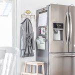 Refrigerator Command Center the Easy Way