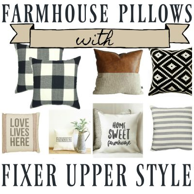 Fixer Upper Farmhouse Throw Pillows