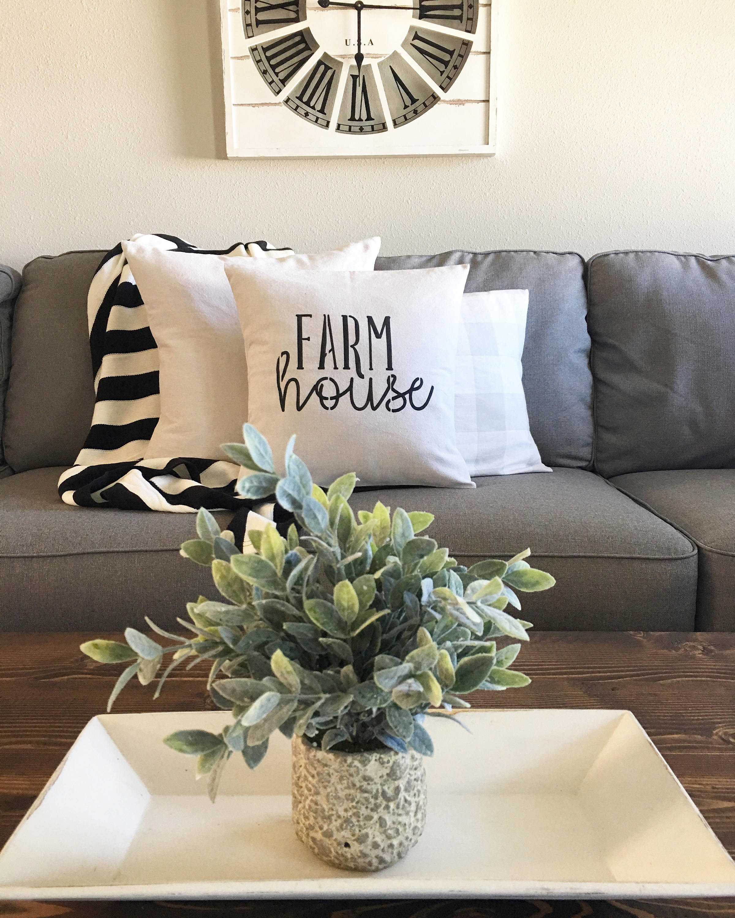 fixer upper farmhouse throw pillows - the weathered fox Couch Pillows