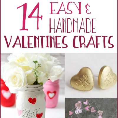 14 Homemade Valentines Day Crafts You Can Make Easily!