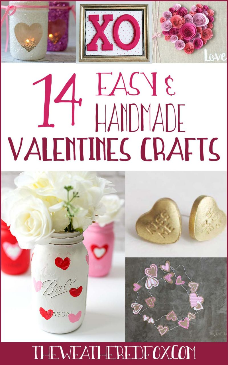14 Homemade Valentines Day Gifts That Are Oh So Easy