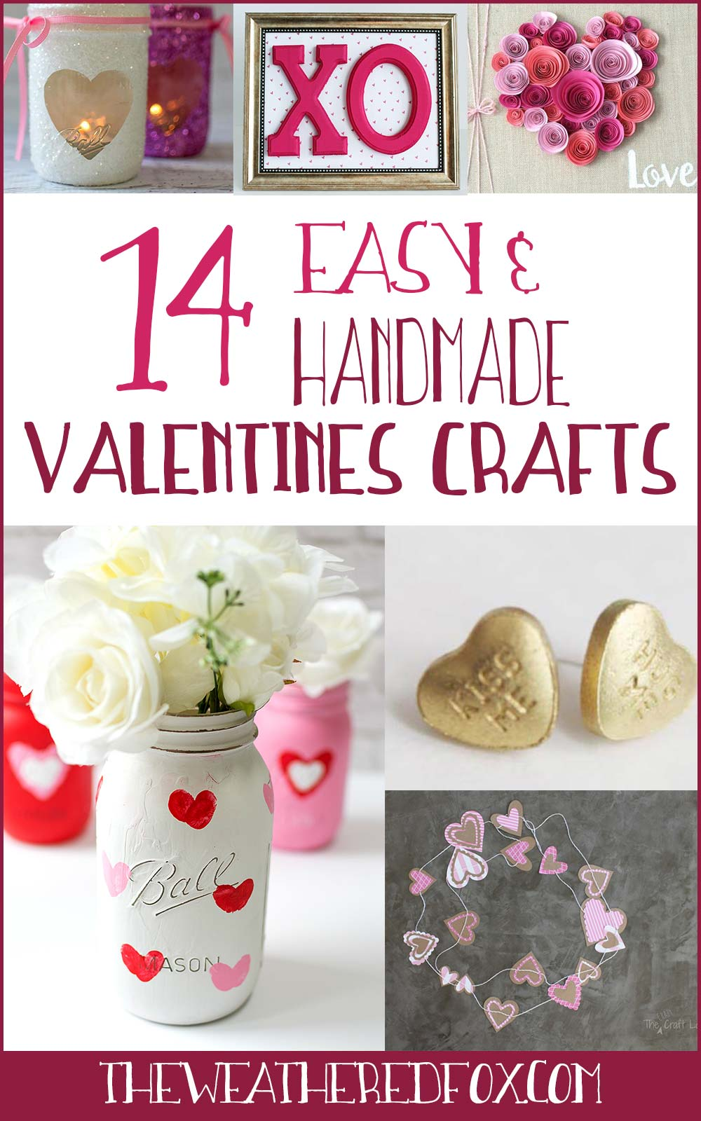 Looking for handmade valentines day gifts? These 14 homemade valentines day gifts are affordable and easy! #valentines #diygifts Similar ideas: valentines day gifts | valentines day gifts for him | easy valentines gifts